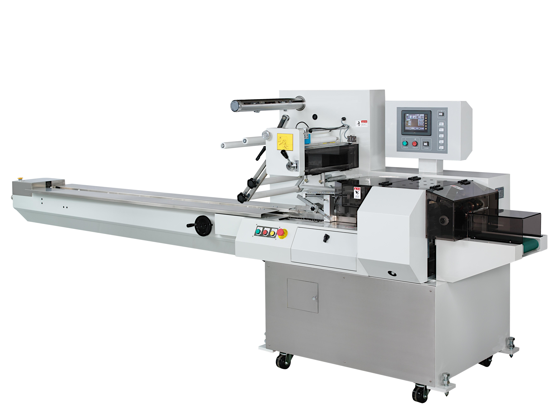 Автоматический горизонтальный упаковочный сервоприводной автомат